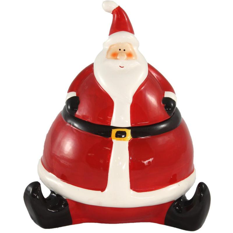 Santa Candy Jar